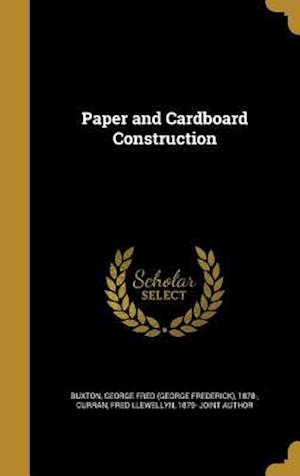 Bog, hardback Paper and Cardboard Construction