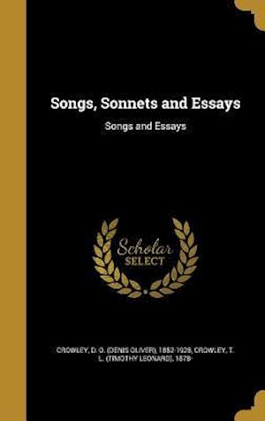 Bog, hardback Songs, Sonnets and Essays