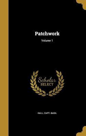Bog, hardback Patchwork; Volume 1