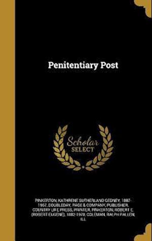 Bog, hardback Penitentiary Post