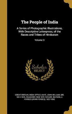 Bog, hardback The People of India af Meadows 1808-1876 Taylor