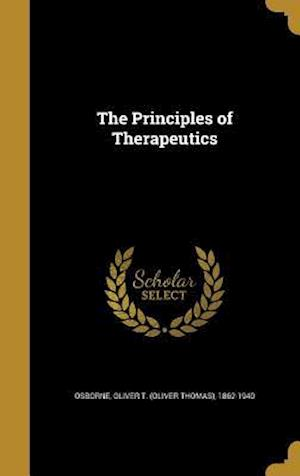 Bog, hardback The Principles of Therapeutics