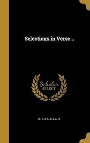 Bog, hardback Selections in Verse ..