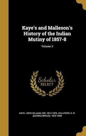 Bog, hardback Kaye's and Malleson's History of the Indian Mutiny of 1857-8; Volume 3