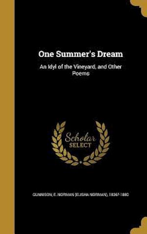 Bog, hardback One Summer's Dream