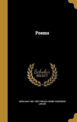Bog, hardback Poems af Henry Anderson Lafler, Nora May 1881-1907 French