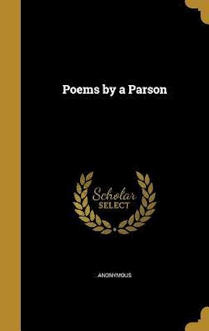 Bog, hardback Poems by a Parson