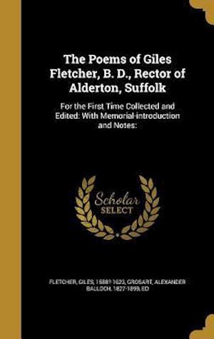 Bog, hardback The Poems of Giles Fletcher, B. D., Rector of Alderton, Suffolk
