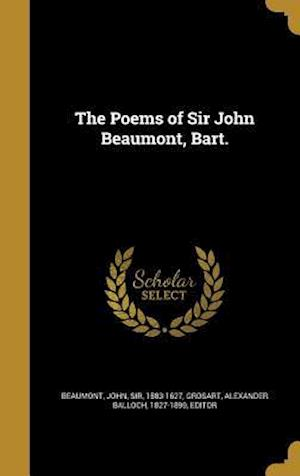 Bog, hardback The Poems of Sir John Beaumont, Bart.