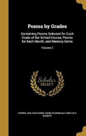 Bog, hardback Poems by Grades af Charles Benajah 1855-1913 Gilbert