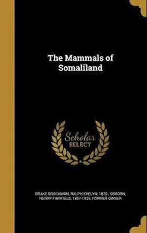 Bog, hardback The Mammals of Somaliland