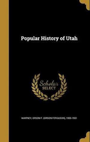 Bog, hardback Popular History of Utah
