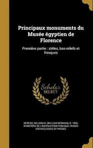 Bog, hardback Principaux Monuments Du Musee Egyptien de Florence