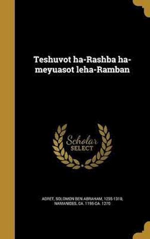 Bog, hardback Teshuvot Ha-Rashba Ha-Meyuasot Leha-Ramban