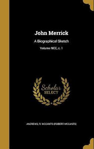 Bog, hardback John Merrick