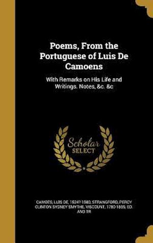 Bog, hardback Poems, from the Portuguese of Luis de Camoens