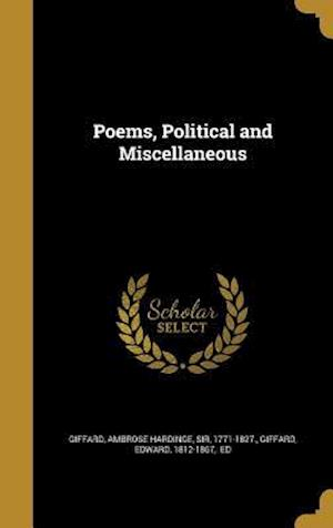 Bog, hardback Poems, Political and Miscellaneous