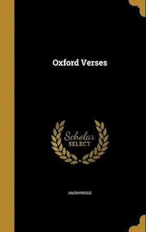 Bog, hardback Oxford Verses