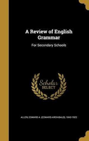 Bog, hardback A Review of English Grammar