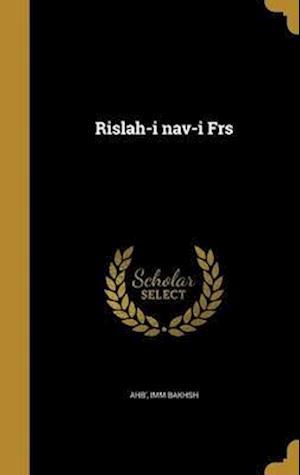 Bog, hardback Rislah-I Nav-I Frs