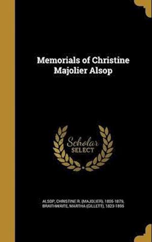 Bog, hardback Memorials of Christine Majolier Alsop
