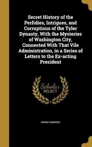 Bog, hardback Secret History of the Perfidies, Intrigues, and Corruptions of the Tyler Dynasty, with the Mysteries of Washington City, Connected with That Vile Admi af Hiram Cumming