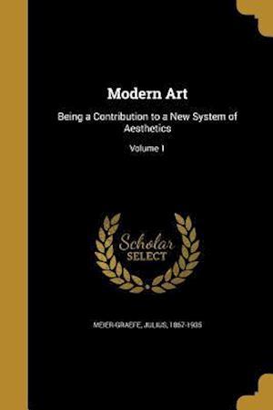 Bog, paperback Modern Art