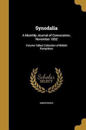 Bog, paperback Synodalia