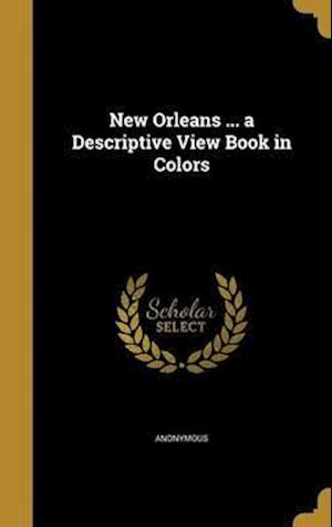Bog, hardback New Orleans ... a Descriptive View Book in Colors