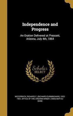 Bog, hardback Independence and Progress