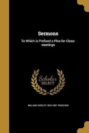 Bog, paperback Sermons af William Morley 1824-1881 Punshon