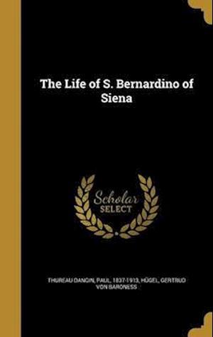 Bog, hardback The Life of S. Bernardino of Siena