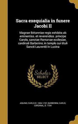 Bog, hardback Sacra Exequialia in Funere Jacobi II