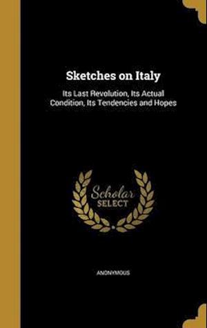 Bog, hardback Sketches on Italy