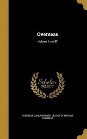 Bog, hardback Overseas; Volume 4, No.37