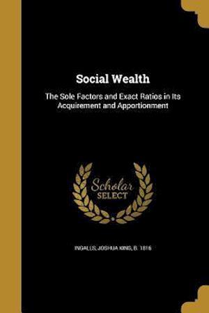 Bog, paperback Social Wealth