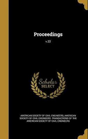 Bog, hardback Proceedings; V.22