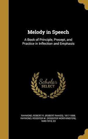 Bog, hardback Melody in Speech
