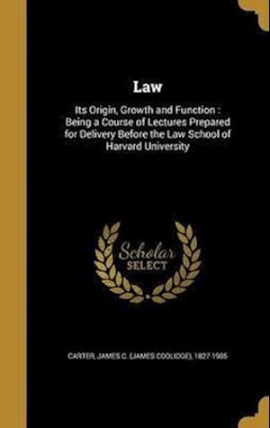 Bog, hardback Law