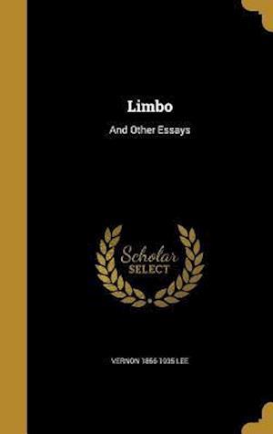 Bog, hardback Limbo af Vernon 1856-1935 Lee