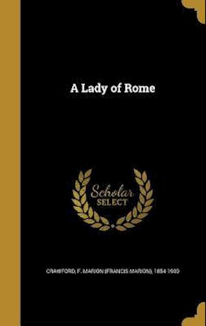 Bog, hardback A Lady of Rome