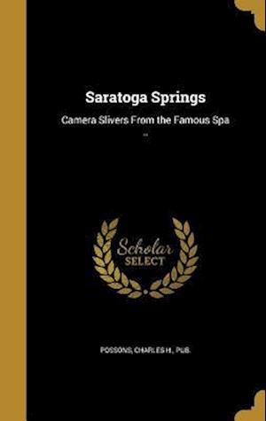 Bog, hardback Saratoga Springs