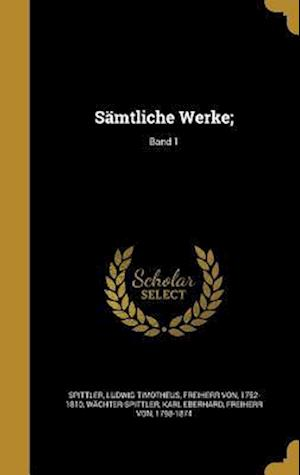 Bog, hardback Samtliche Werke;; Band 1