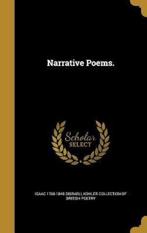Bog, hardback Narrative Poems. af Isaac 1766-1848 Disraeli