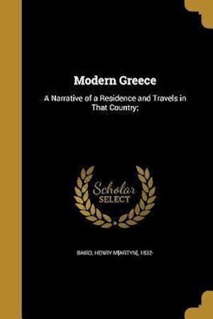 Bog, paperback Modern Greece