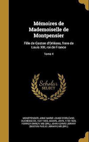 Bog, hardback Memoires de Mademoiselle de Montpensier