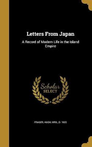 Bog, hardback Letters from Japan