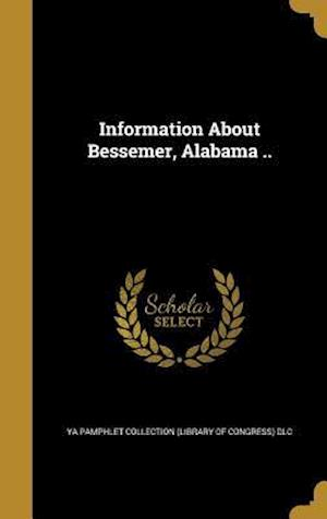Bog, hardback Information about Bessemer, Alabama ..