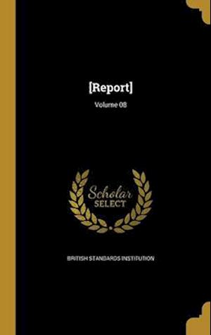 Bog, hardback [Report]; Volume 08