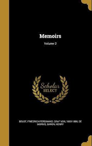 Bog, hardback Memoirs; Volume 2